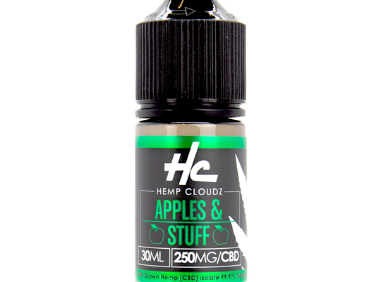 Hemp Cloudz Apples & Stuff CBD - Freeman CBD