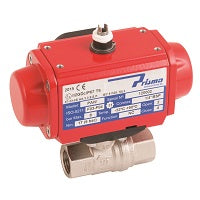 Pneumatic Actuator Valve - Ball