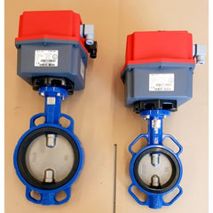 Wafer Butterfly Valves with J3CL140 Electric Actuators