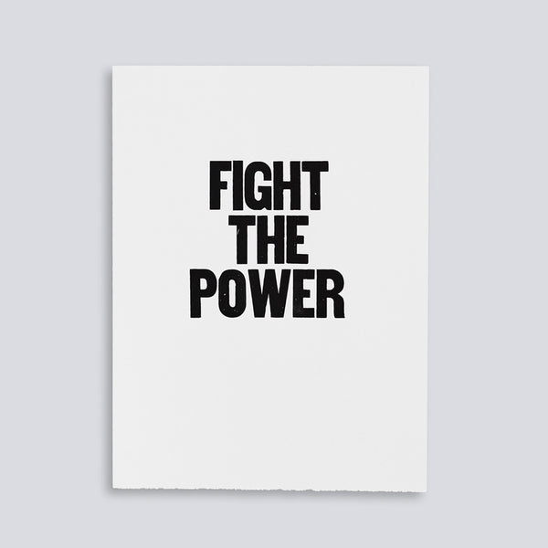 Fight the Power