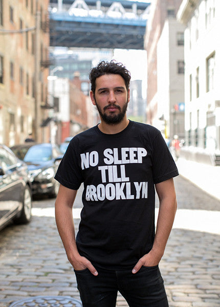 No Sleep Till Brooklyn Crewneck Tee