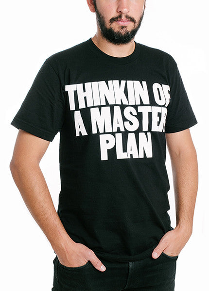 Thinkin of a Master Plan Crewneck Tee