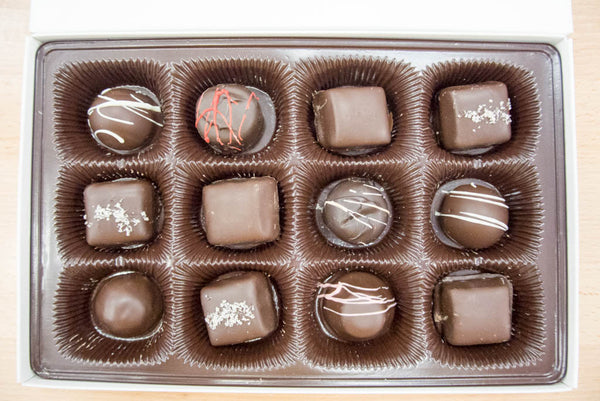 Assorted Dark Chocolate Box