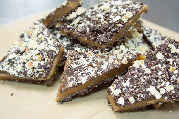 Dark Chocolate English Toffee