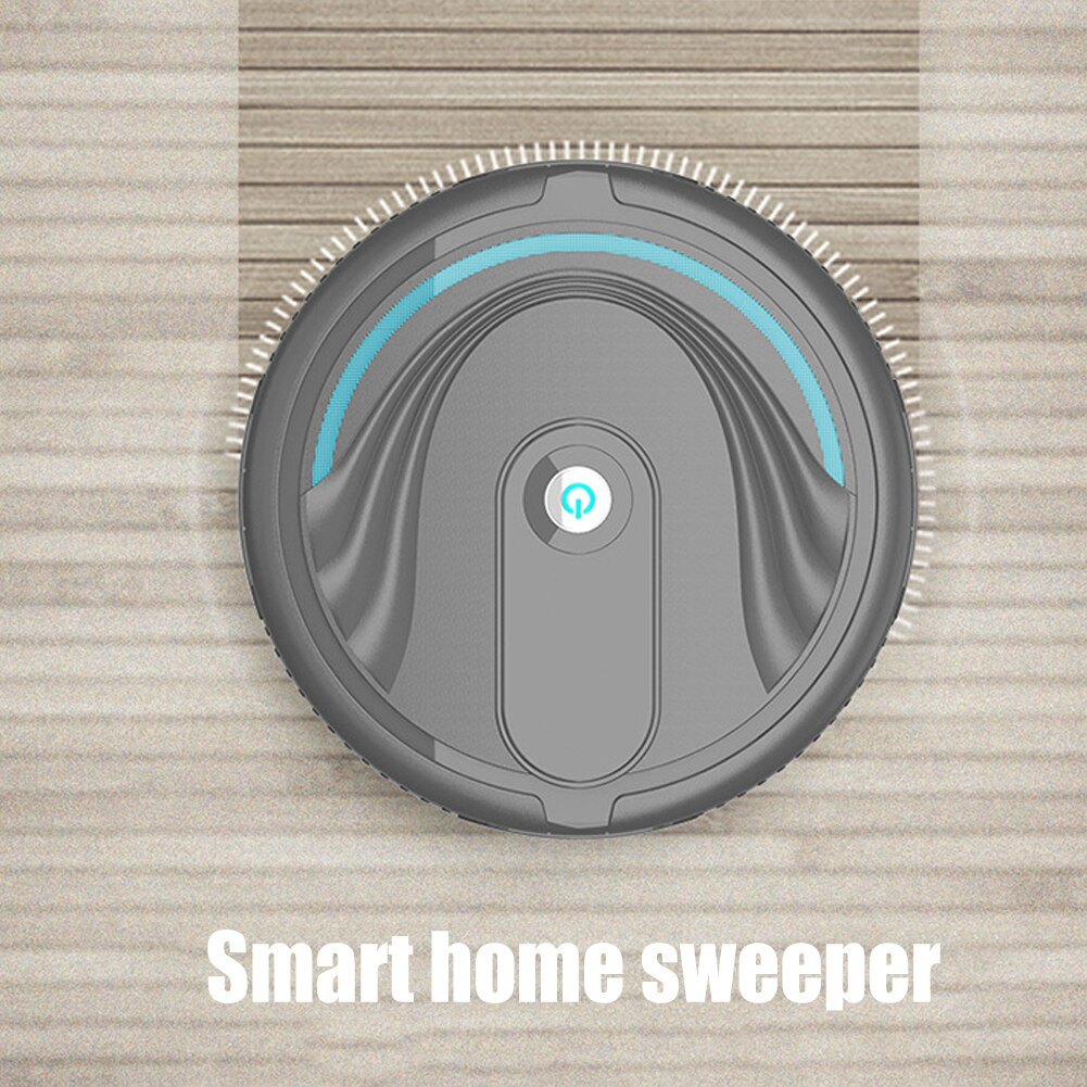 1Pc Portable Household Automatic Efficient Smart Clean Robot Vacuum Cleaner Floor Sweeping Dust Remover Easy to Use