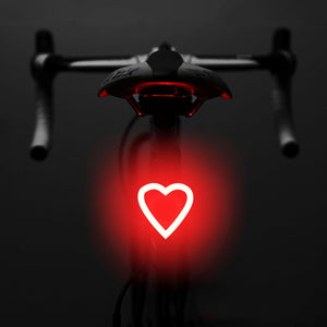 Bicycle Light USB Rechargable Bike Light Led Lamp Flashlight Tail Rear Cycling Lights for MTB Seatpost Bicycle Accessories