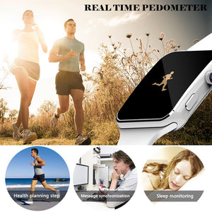 X6 Smartwatch Bluetooth Dial/with Camera Touch Screen