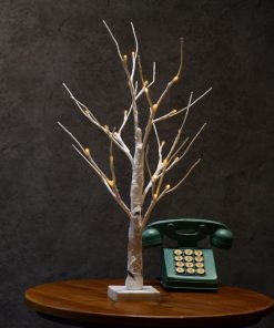60cm Silver Birch LED Tree Lamp