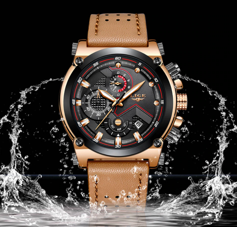 Lige Watch - Top Brand Sports Watch For Men