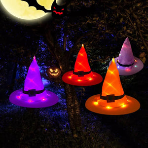 Halloween Wizard Witch Hat LED