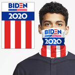 USA 2020 Presidential Candidate Bandanna Neck Gaiter Seamless Outdoor Scarf