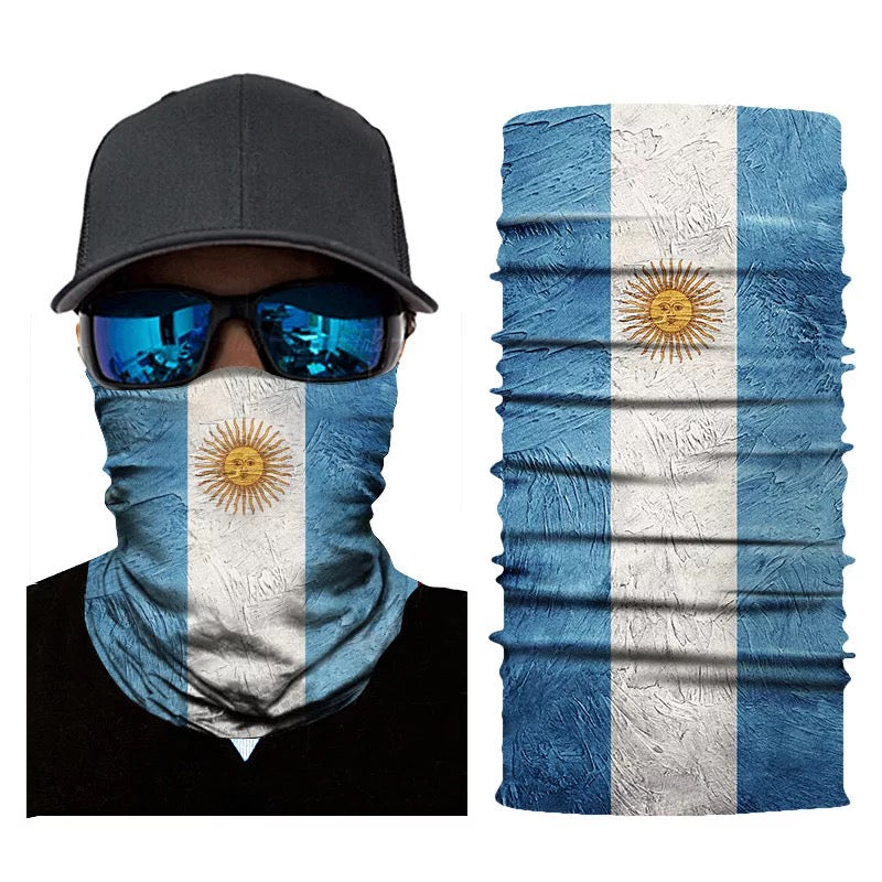Bandanna Neck Different Countries