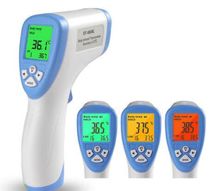 Digital Thermometer Infrared Baby Adult Forehead Non-contact Infant Kids Infrared Thermometer With LCD Backlight