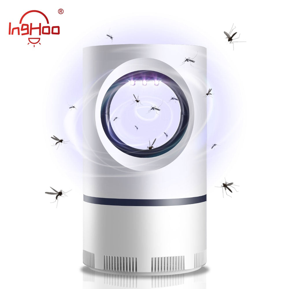 IngHoo USB Mosquito lamp Safe Mute No-radiation UV anti-mosquito light Suitable for office dormitory bedroom living room hotel