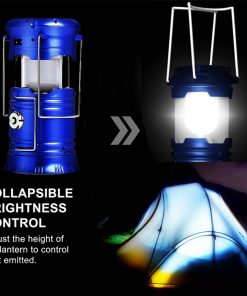 Solar Camping Lanterns - Rechargeable LED Solar Lantern