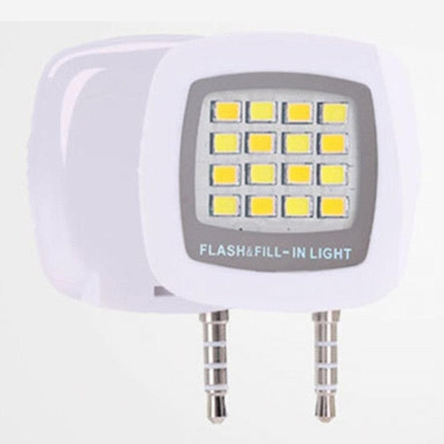 16pcs LED Mini Flash Fill Light For Mobile Phone