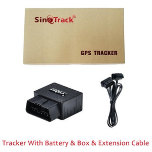 OBD II GPS Tracker 16PIN OBD Plug Play Car GSM OBD2 Tracking Device GPS locator OBDII with online Software IOS Andriod APP