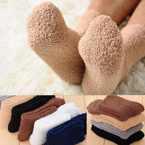 Winter Warm Fluffy Socks In Women's Socks