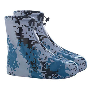 Men Women Shoes Covers for Rain Flats Ankle Boots Cover PVC Reusable Non-slip Cover for Shoes With Internal Waterproof Layer