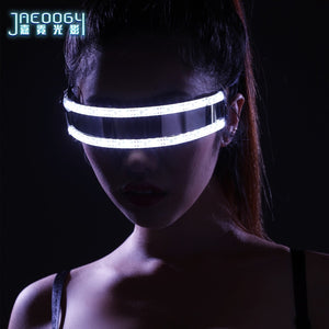 LED luminescent spectacles, the creative fashionable night luminous glasses, bars, night show products