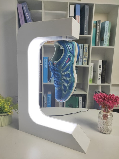 Magnetic Levitation Floating shoe  display stand ,Sneaker Stand, house,holds 500g weight,levitation gap 20mm SEND BY RAIL or SEA