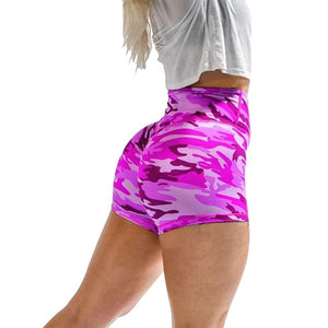 Women Gym Jogging Yoga Shorts Leggings Breathable Women's Yoga Short Sports Fitness Solid Color
