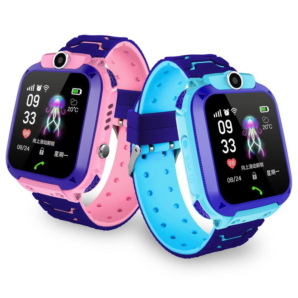 Q12B Children's Smart Watch Phone Waterproof