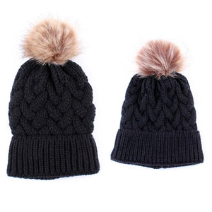 Cute Kids Girls Hats Mother Daughter Hat