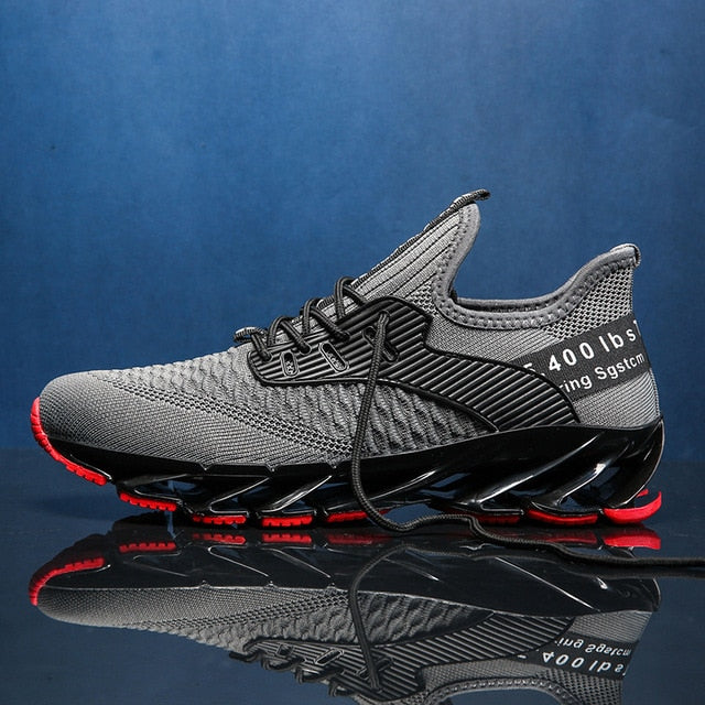 NEW Men Running Shoes Blade Cushioning Sport Male Sneakers Breathable Zapatillas Hombre Deportiva Outdoor Walking Jogging Shoes