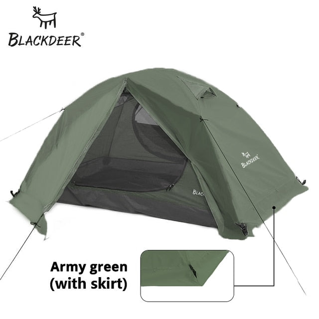 Black deer Archeos 2P Backpacking Tent Outdoor Camping 4 Season Tent