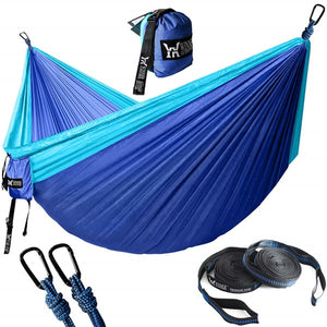 Upgrade Camping Hammock Outdoor Tourist Hanging Hammocks Portable Parachute Nylon Hiking Hammock For Backpacking Travel