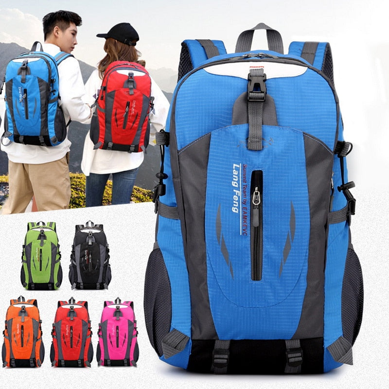 40L Hiking Backpacks Men Waterproof Women Camping Bags Men Backpack Outdoor