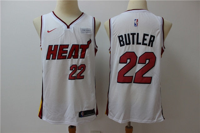 NBA Men's Miami Heat #22 Jimmy Butler Basketball Jersey City Edition