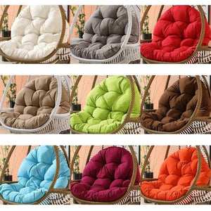 Seat Cushion Mat Egg Chair Seat Cushion Garden Swing Chair Basket  Hanging Egg Hammock for Home Patio Garden Living Room