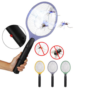 Electric Fly Swatter Home Fly Swatter Mosquito Bug Zapper Kills Mosquitoes