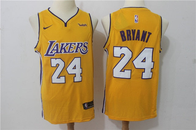NBA Men's Los Angeles Lakers #24 Kobe Bryant Basketball Jerseys Limited Edition