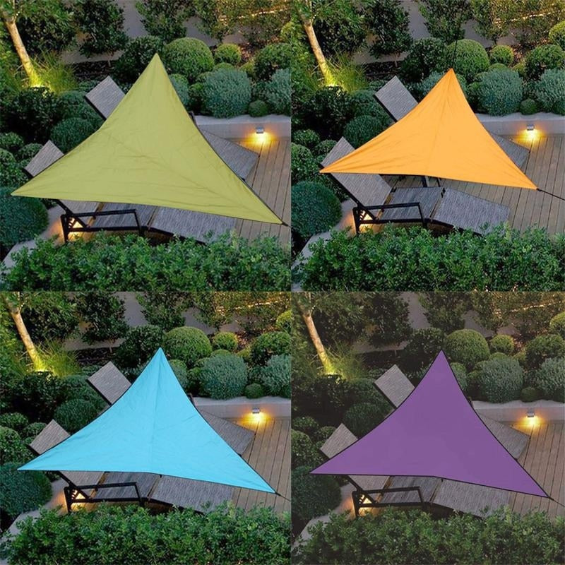Triangular Outdoor Awnings Waterproof Sun Shelter Sunshade Protection Outdoor Canopy Garden Patio Pool Shade Sail Awning