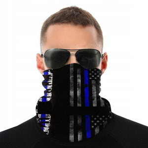 USA American UNITED Flag Face Scarf