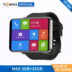 New Ticwris Max 4G Android Watch