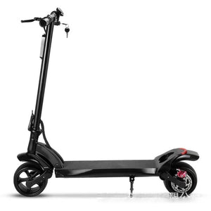 Portable smart folding e-scooter Adult electric scooter with 9 inch non-slip solid tire