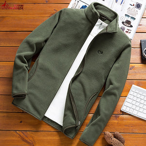 Man Fleece Tactical Softshell Jacket outwear Windbreaker Thermal