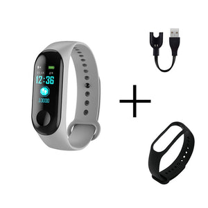 Hot Men Smart Sports Watch Blood Pressure Heart Rate Monitor Message Reminder Bluetooth Waterproof Men Women bracelet kids wrist