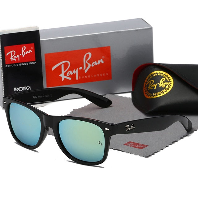 New Rayban RB2140 Vintage Sports Style Polarized Sunglasses Men Black Driving Square Sunglass Shades For Women Luxury Brand