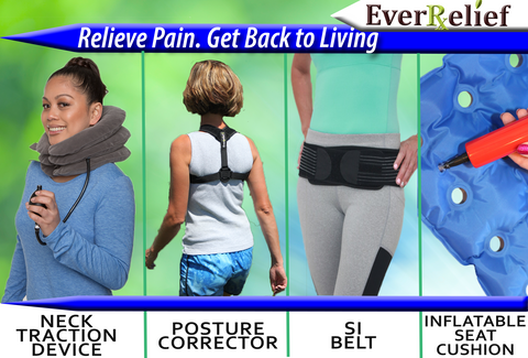 These EverRelief products are designed to relieve pain and get you back to living.