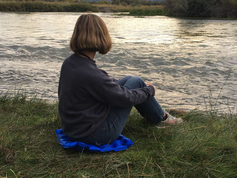 EverRelief Inflatable Seat Cushion providing comfort and support for campers