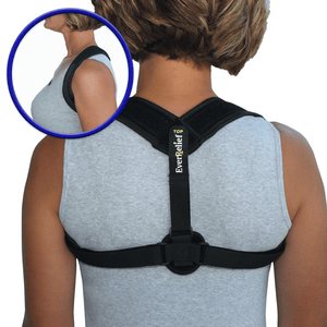 EverRelief Posture Corrector Brace to Prevent hunching your shoulders and help realign your back muscles, so you can use your tablet 100% pain-free!
