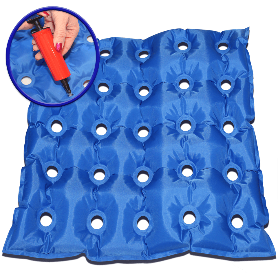 EverRelief Inflatable Seat Cushion to HELPS PREVENTS PRESSURE ULCERS, BEDSORES & BACK PAIN.