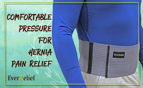 Relieve hernia pain with the EverRelief Hernia Belt