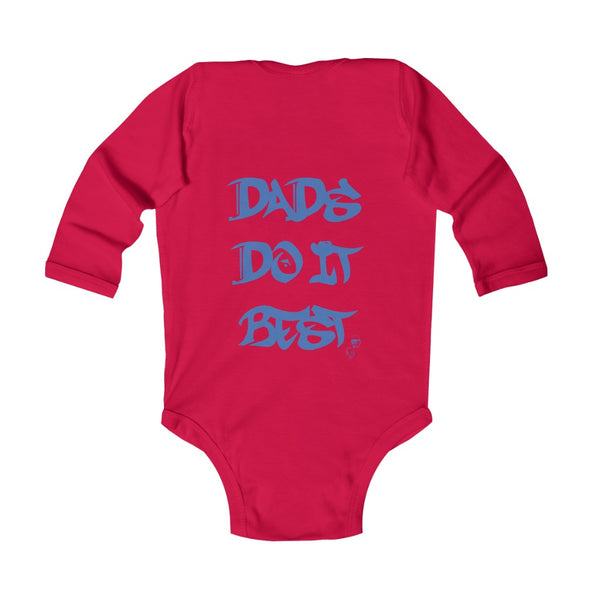 DDIB Infant Red Baby Bodysuit