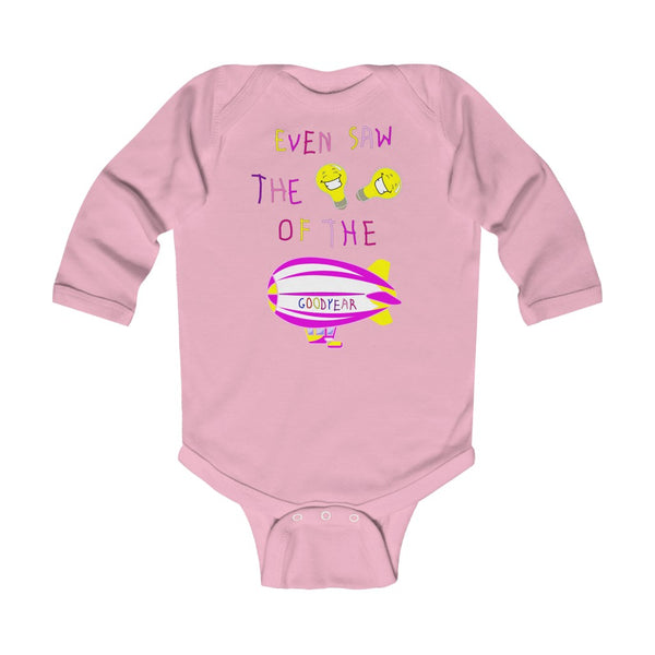 Soft DDIB Infant Baby Light Pink Bodysuit